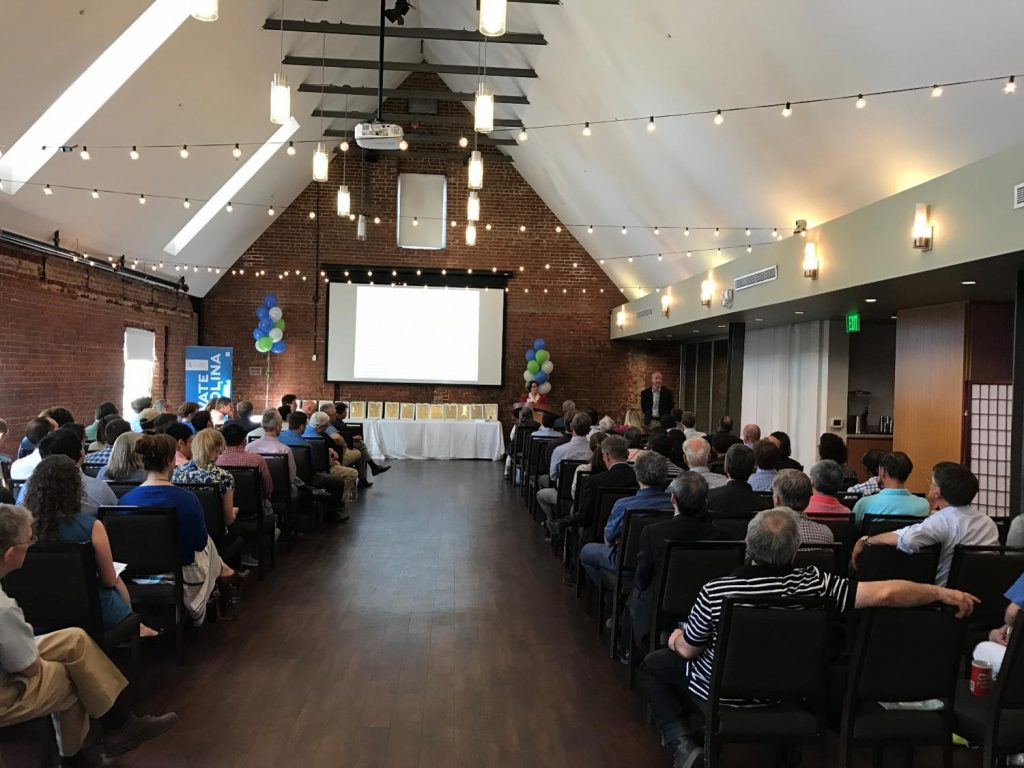 2018 Celebration of Inventorship attendees convene at Top of the Hill in Chapel Hill