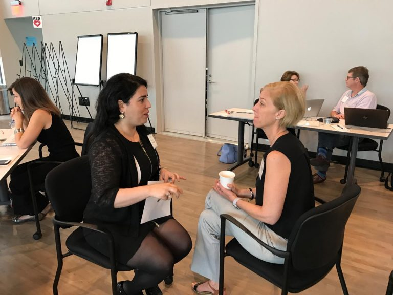 Ronit Fraiman (Department of Applied Physical Sciences) and Sheryl Waddell (Innovate Carolina)