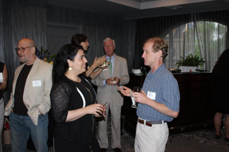 Ronit Freeman (Department of Applied Physical Sciences) and Richard Goldberg (Department of Biomedical Engineering)