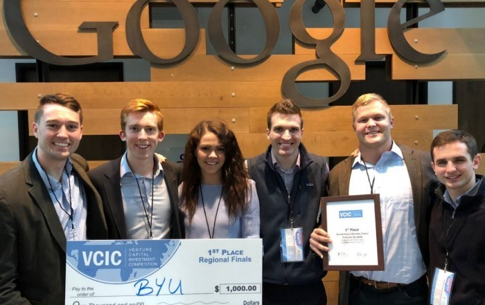 2018 First-place undergraduate team at West Coast regional VCIC competition hosted at Google: Brigham Young University. This team went on to win the national finals.