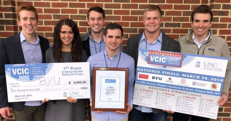 2018 Undergraduate Global VCIC Champions: Brigham Young University