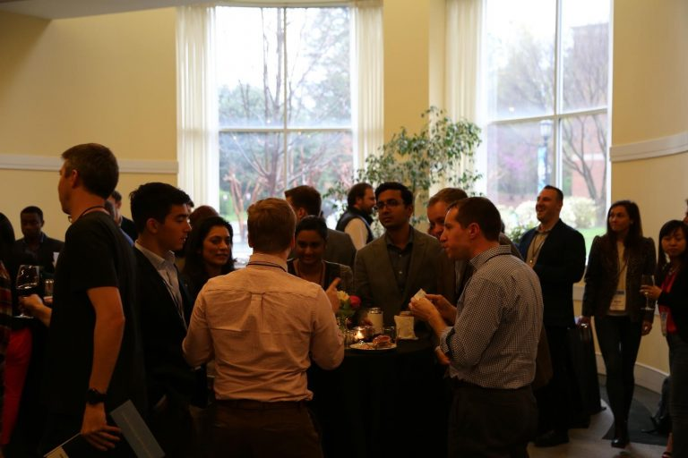 Student reception at the VCIC MBA Global Finals