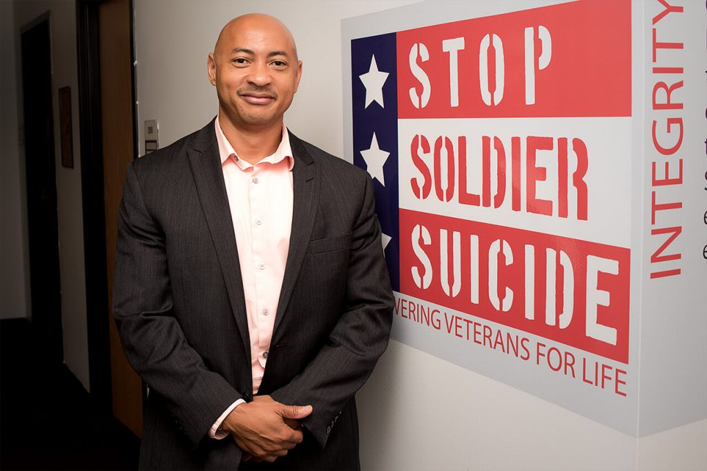 Rasheed Bellamy, Chief of Staff at Stop Soldier Suicide