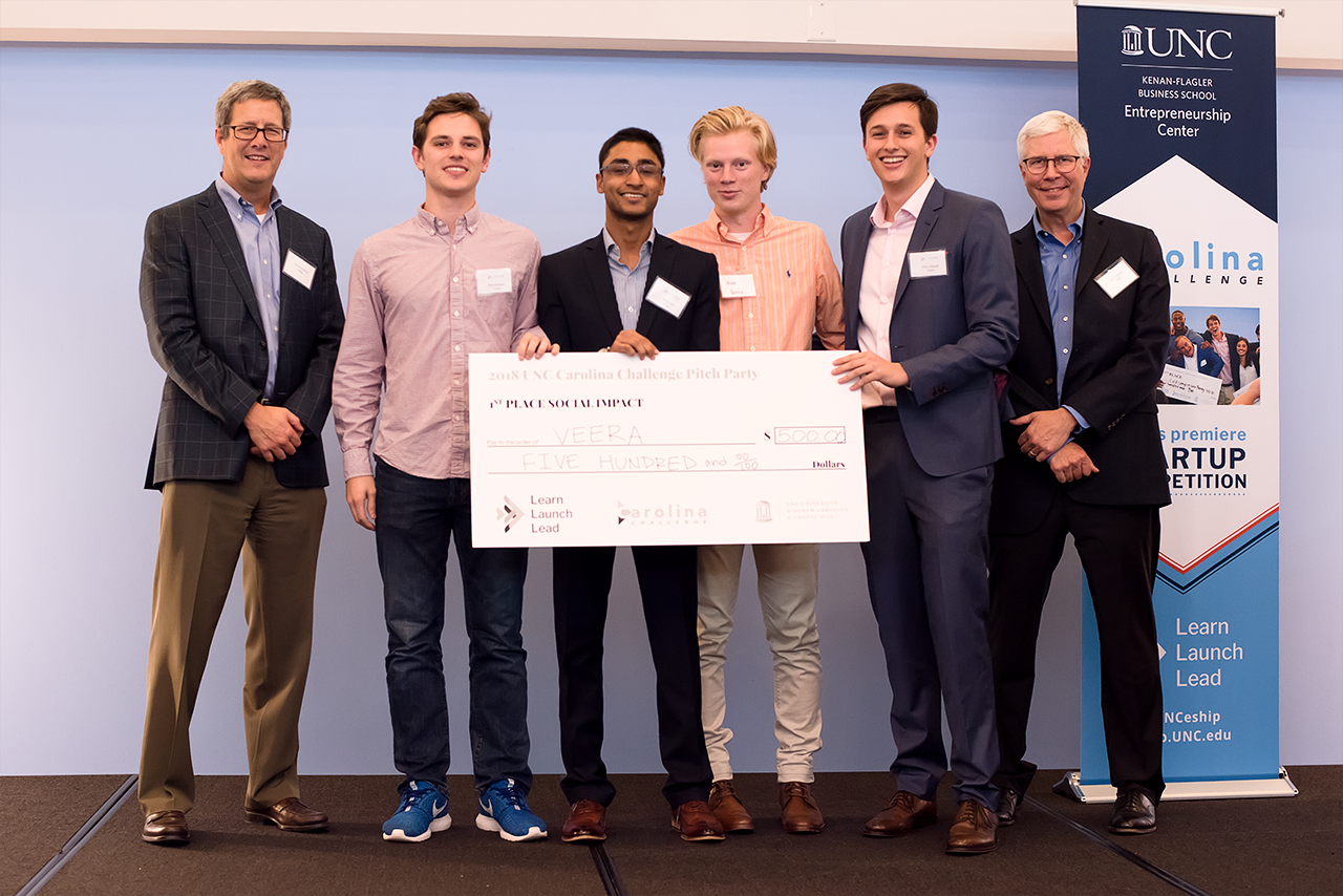 Veera (First Place): A cold storage device to combat post-harvest loses in developing countries.