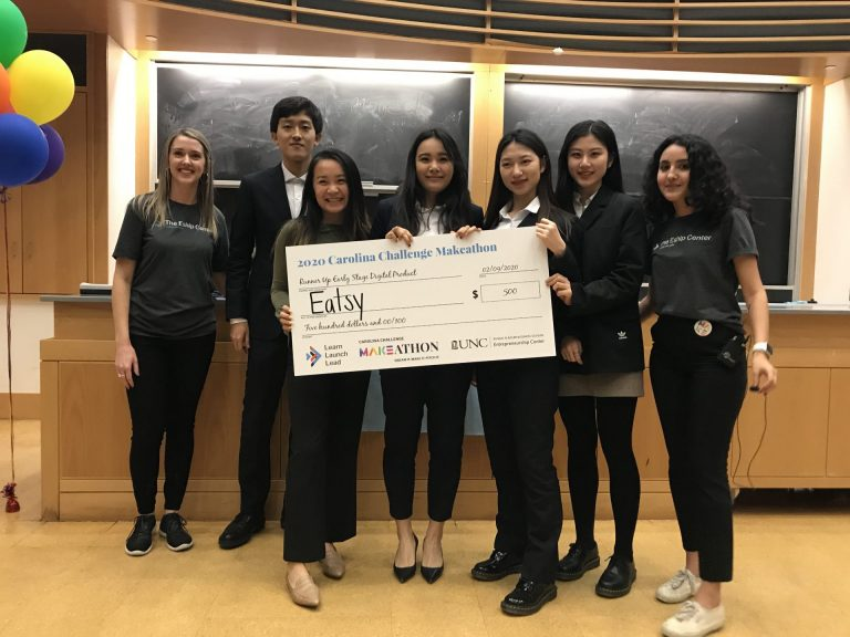 Eatsy (Best Digital Design: An app that will provide a better dining experience for all UNC students