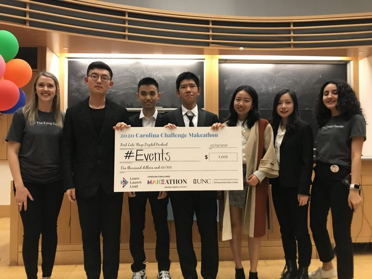 #Events (Runner Up Late-Stage Digital Product): A digital platform that allows students to find and contact peer tutors more easily