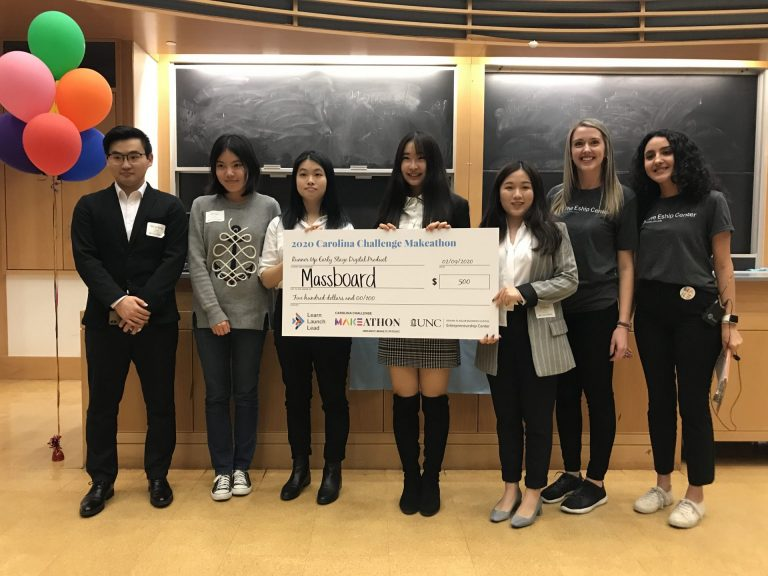 Massboard (Runner Up Early-Stage Digital Product): A cross-campus mobile app that strives to make connections between students, student organizations and local businesses