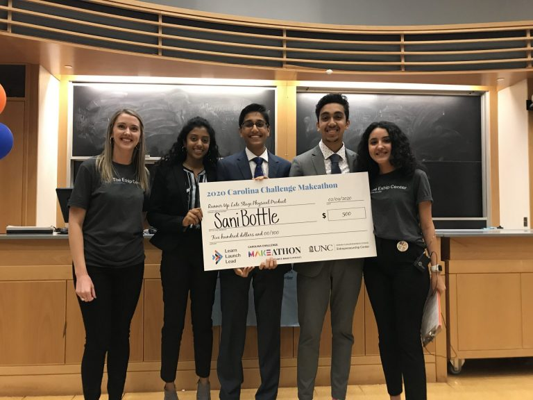 SaniBottle (Runner Up Late-Stage Physical Product): Sanitizing water bottles within a matter of minutes using minimal energy and no water