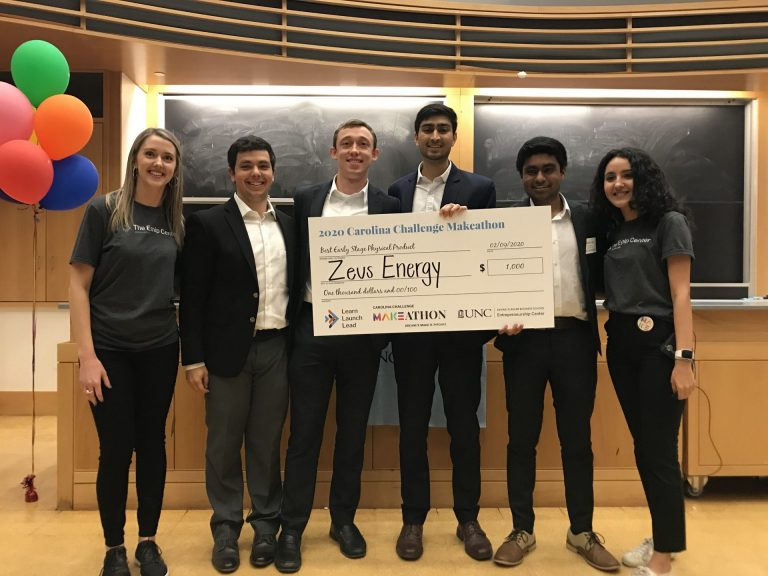 Zeus Energy (Best Early-Stage Physical Product): Improving heating and cooling efficiency in homes by encapsulating phase change materials (pcm) and incorporating them into paint