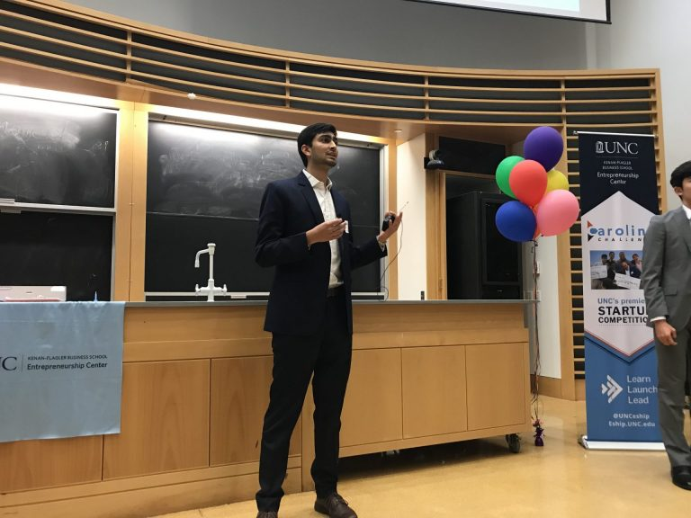 Siddarth Vasisht from Zeus Energy makes his team's final pitch