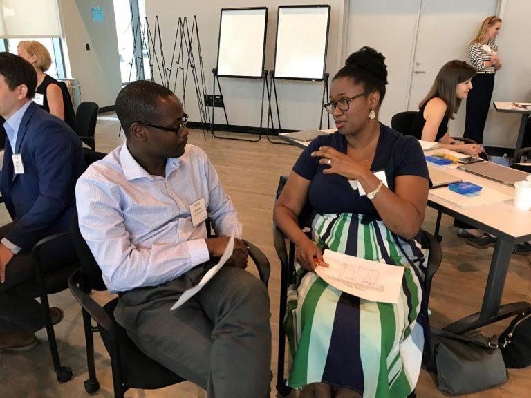 David Ansong and Rachel Goode (School of Social Work)