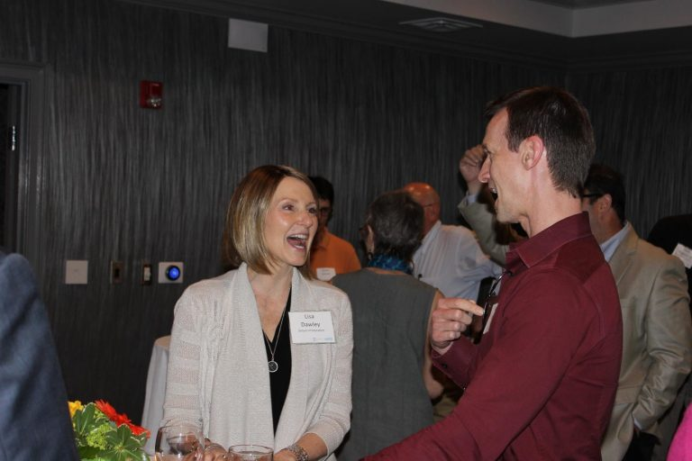 Lisa Dawley (School of Education) and Jason Doherty (KickStart Venture Services)